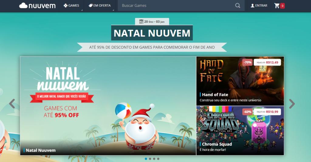 Promoção de natal Nuuvem